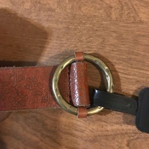 Lucky Brand leather belt XS NWT